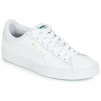 Chaussures Baskets basses Puma BASKET CLASSIC LFS.WHT WHITE