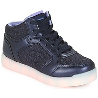 Chaussures Fille Baskets montantes Skechers ENERGY LIGHTS NAVY
