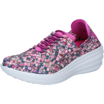 Chaussures Femme Baskets mode Pregunta chaussures femme  sneakers multicolor textile BY73 multicolor
