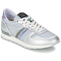 Chaussures Femme Baskets basses Serafini LOS ANGELES Silver / Gris