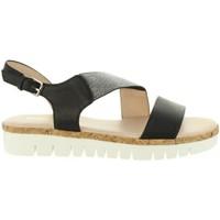 Chaussures Femme Sandales et Nu-pieds Chika 10 IDOIA 01 Negro
