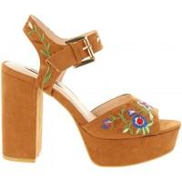 Chaussures Femme Sandales et Nu-pieds Chika 10 NEW TAYLOR 02 Marrón