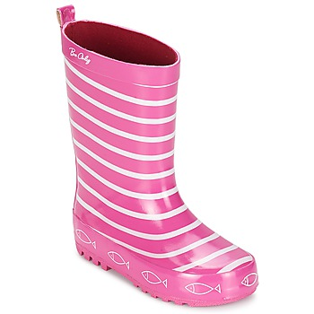 Chaussures Fille Bottes de pluie Be Only TIMOUSS Rose