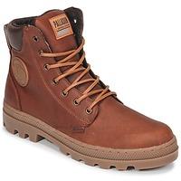 Chaussures Homme Boots Palladium PALLABOSSE SC WP Marron