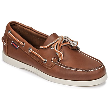 Chaussures Homme Chaussures bateau Sebago DOCKSIDES FGL Marron