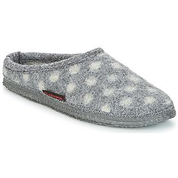 Chaussures Femme Chaussons Giesswein NEUENSTEIN Gris