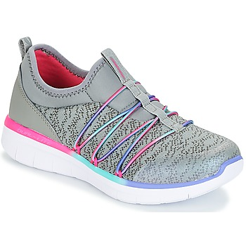 Chaussures Fille Fitness / Training Skechers SYNERGY 2.0 gris