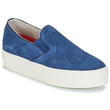 Chaussures Femme Slip ons Skechers UPLIFT bleu