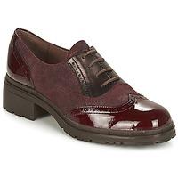 Chaussures Femme Derbies Wonders NAPHYA Bordeaux