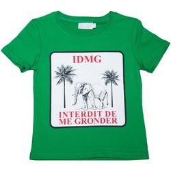 Vêtements Enfant T-shirts manches courtes Interdit De Me Gronder T-shirt manches courtes Olala Vert