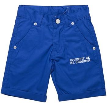 Vêtements Garçon Shorts / Bermudas Interdit De Me Gronder Dilly Bleu