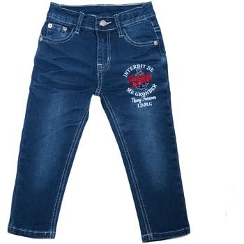 Vêtements Enfant Jeans droit Interdit De Me Gronder Slix Bleu