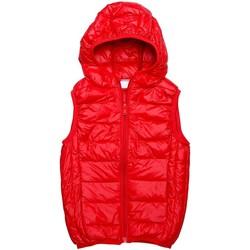 Vêtements Enfant Doudounes Interdit De Me Gronder Doudoune sans manches HOT Rouge