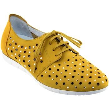 Chaussures Femme Derbies Sabrinas Bruselas 85006 Jaune nubuck