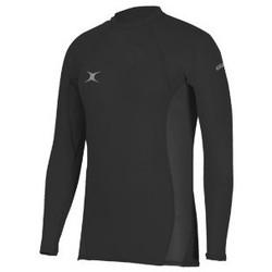 Vêtements Enfant T-shirts & Polos Gilbert Baselayer rugby adulte - Atomic - Noir