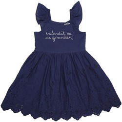 Vêtements Fille Robes Interdit De Me Gronder Elegance Bleu