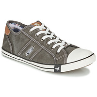 Chaussures Homme Baskets basses Mustang TIRON Gris