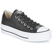 Chaussures Femme Baskets basses Converse CHUCK TAYLOR ALL STAR LIFT CLEAN OX Noir / Blanc