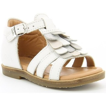 Chaussures Fille Sandales et Nu-pieds Aster NOEMIA BLANC OPTICAL
