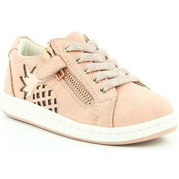 Chaussures Fille Baskets basses Mod 8 TWEETY PINK WHITE PRINT