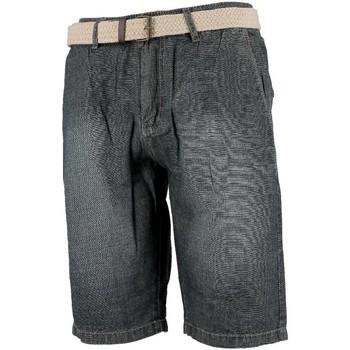 Vêtements Homme Shorts / Bermudas Culture Sud Tikat jeans h Bleu marine / bleu nuit