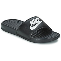 Chaussures Homme Claquettes Nike BENASSI JUST DO IT Noir