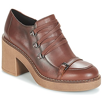 Chaussures Femme Low boots Geox D ADRYA MID Marron