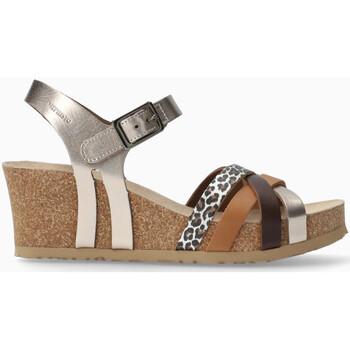 Chaussures Femme Sandales et Nu-pieds Mephisto Sandales compensées LANNY Rouge