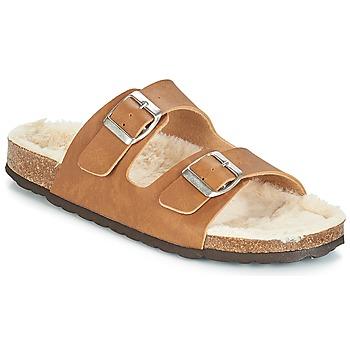 Chaussures Femme Mules Casual Attitude JODRI Camel
