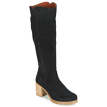 Chaussures Femme Bottes ville Casual Attitude JAPI Noir