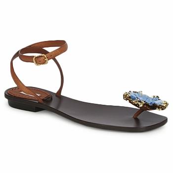 Chaussures Femme Sandales et Nu-pieds Marc Jacobs MJ16131 Marron / Bleu