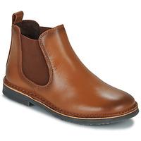 Chaussures Garçon Boots Citrouille et Compagnie JOVETTE Camel
