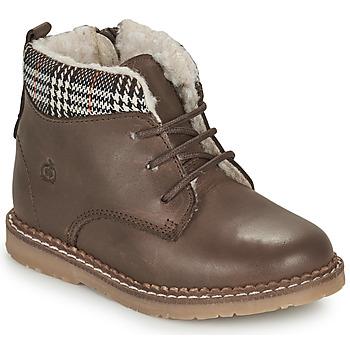 Chaussures Garçon Boots Citrouille et Compagnie JAMBOUT MARRON
