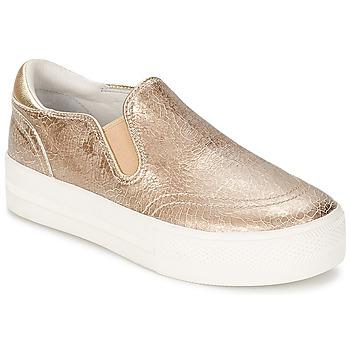 Chaussures Femme Slip ons Ash JUNGLE Doré