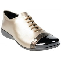 Chaussures Femme Derbies Hirica Derbies Lys Galaxy Bronze Multicolor