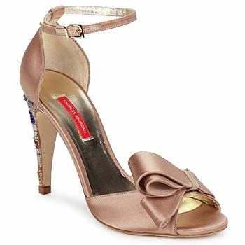 Chaussures Femme Sandales et Nu-pieds Charles Jourdan MANRAY Sable