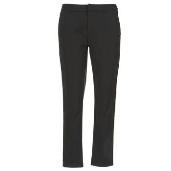 Vêtements Femme Pantalons cargo Scotch & Soda ZERATRE Noir / Blanc