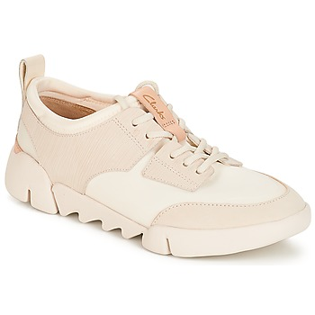 Chaussures Femme Baskets basses Clarks Tri Spirit White Combi