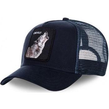 Accessoires textile Casquettes Goorin Bros Casquette Homme Microfibre LONE WOLF Marine bleu