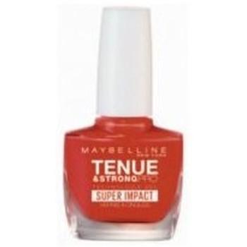 Beauté Femme Vernis à ongles Gemey Maybelline - Vernis TENUE & STRONG PRO - 884 Nonstop Orange Autres