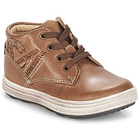Chaussures Garçon Baskets basses GBB NINO VTE MARRON DPF/GOMEZ