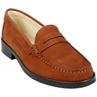 Chaussures Femme Mocassins Hirica Mocassin Vendome Gold Marron