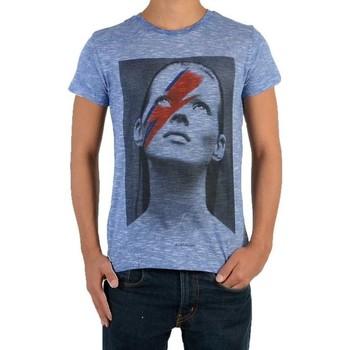 Vêtements Enfant T-shirts manches courtes Eleven Paris Tee Shirt  Katos SS Kate Moss Mixte Bleu