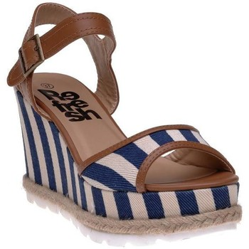 Chaussures Femme Espadrilles Refresh Bottines bleu