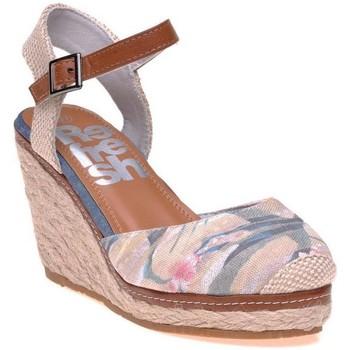 Chaussures Femme Espadrilles Refresh Sandales Beige