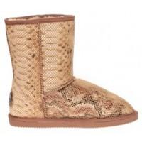 Chaussures Femme Bottines Ilario Ferucci Bottines Elita Marron Marron