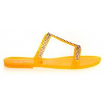 Chaussures Femme Mules Ilario Ferucci Mules Ursina Uziel Orange Orange