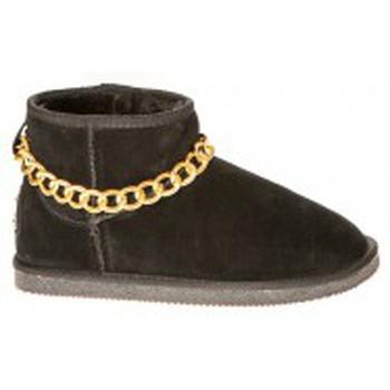 Chaussures Femme Boots Ilario Ferucci Bottes Teoman Noir Noir