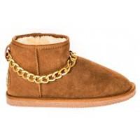 Chaussures Femme Boots Ilario Ferucci Bottes Teoman Camel Marron