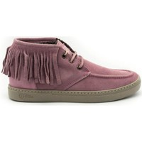 Chaussures Femme Bottines Natural World 6205 Rose